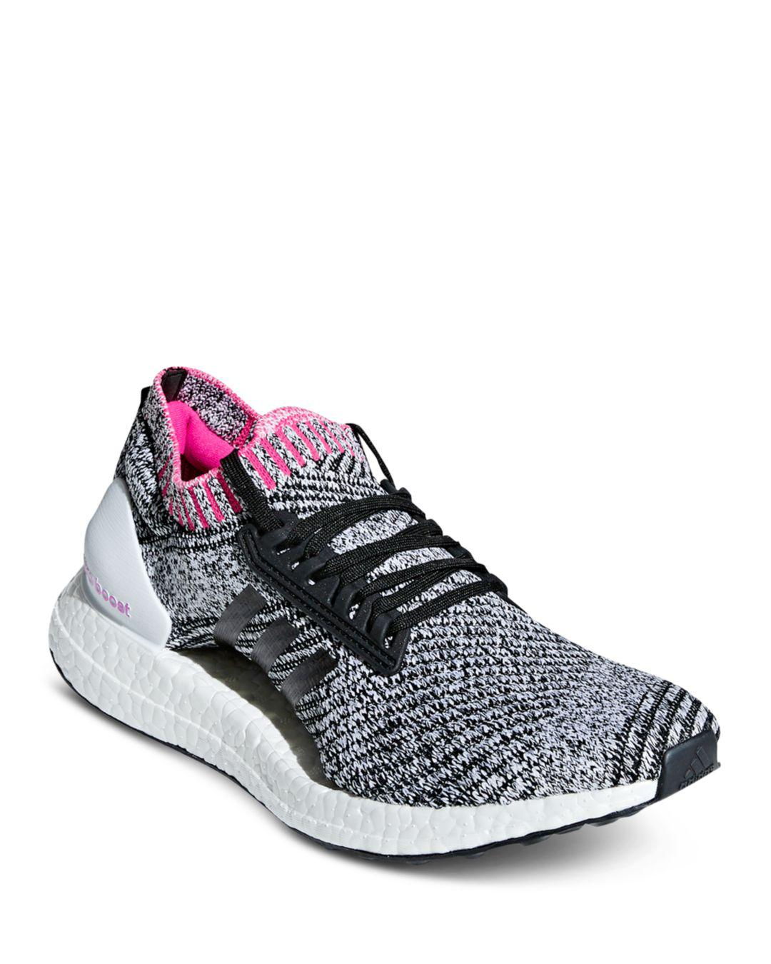 ace977d15 Lyst - adidas Women s Ultraboost X Primeknit Lace Up Sneakers - Save 51%