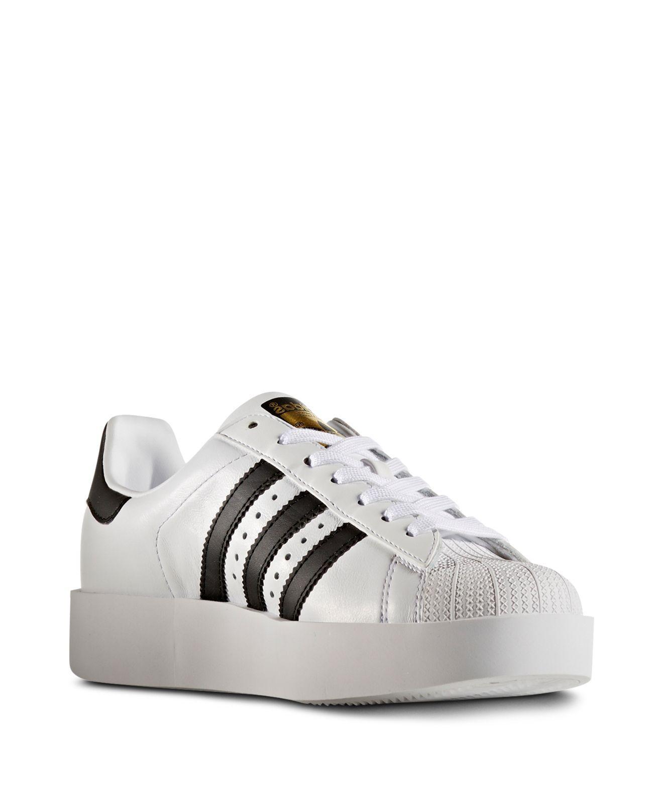 adidas women's superstar bold platform shoes