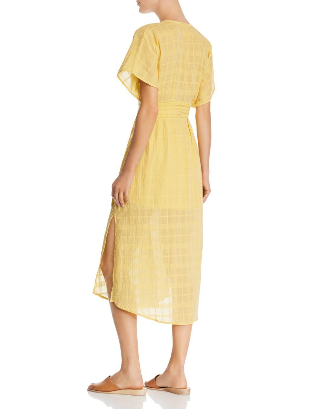 e11d9a5a85de Suboo - Yellow Morning Light Midi Dress - Lyst. View fullscreen
