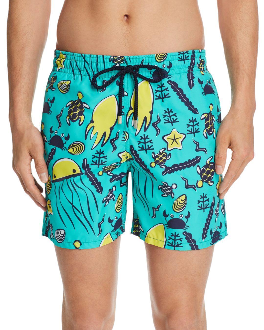 78a62a0f0b Vilebrequin Sea - Life Beach - Print Swim Shorts in Blue for Men - Lyst