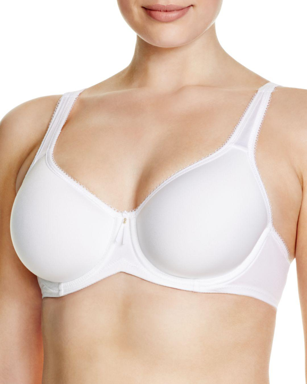 f5022bae0fd Wacoal Basic Beauty Contour Spacer Bra 853192 in White - Lyst