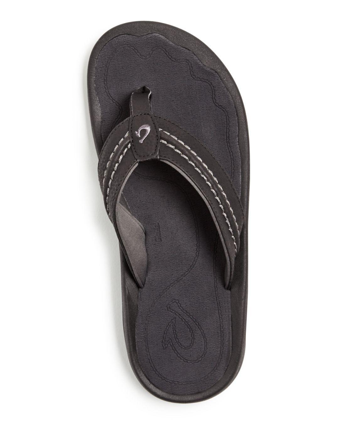 bd61ed11a2dd Lyst - Olukai Men s Hokua Flip-flops in Black for Men
