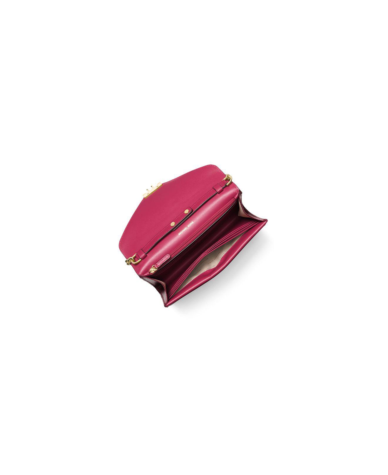 a246dcb3b02c78 MICHAEL Michael Kors Sloan Envelope Color Block Large Leather Chain ...