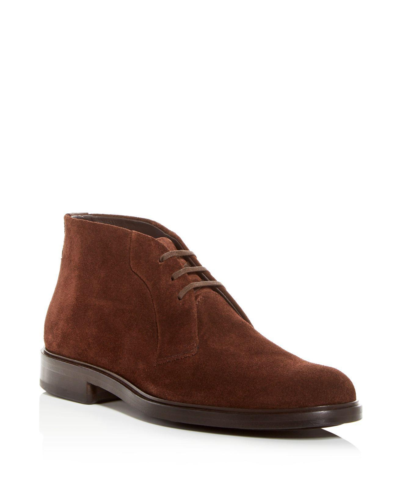Vince Men's Brunswick Suede Chukka Boots PJtI8