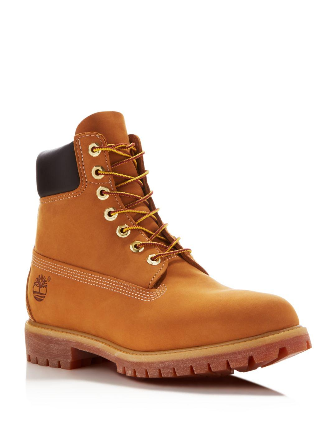 6bb11c03dd4c3 Timberland Men's Icon Waterproof Boots in Natural for Men - Lyst