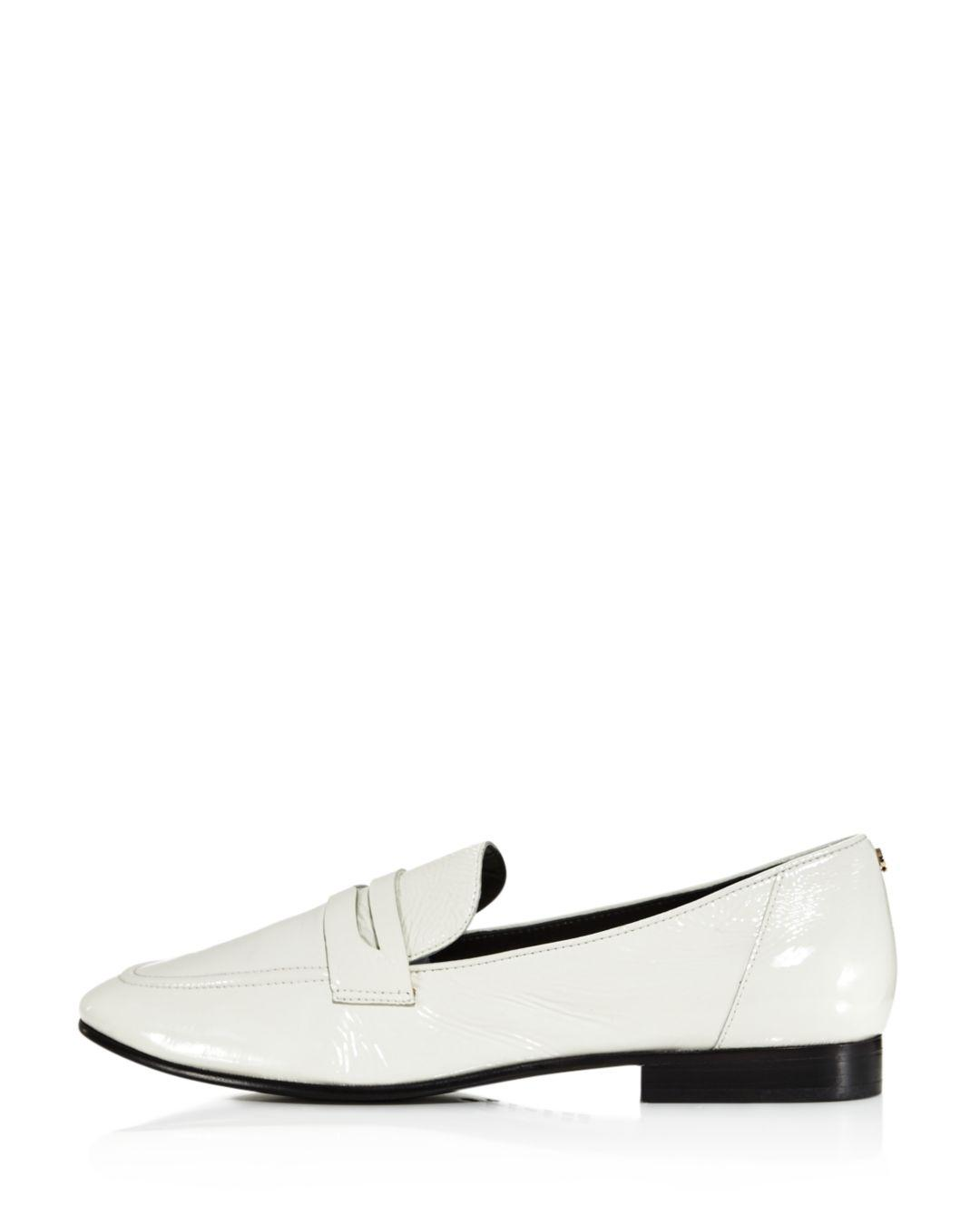 079273b99d9 Kate Spade Genevieve Loafer in White - Lyst