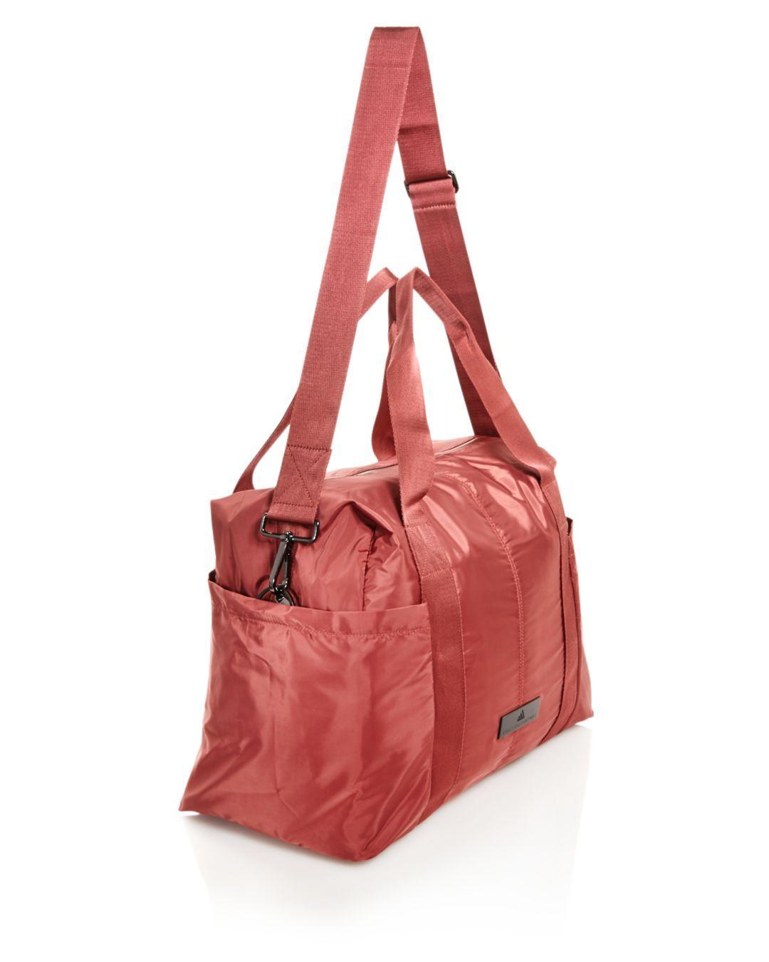 434fc3b9c6 Adidas By Stella McCartney - Red Shipshape Gym Bag - Lyst. View fullscreen