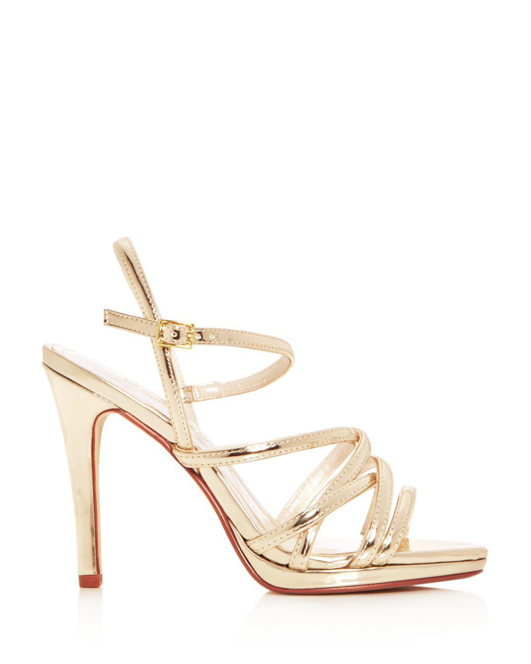 a9fd8c60d6ed Lyst - Caparros Women s Lola Strappy Slingback High-heel Platform ...