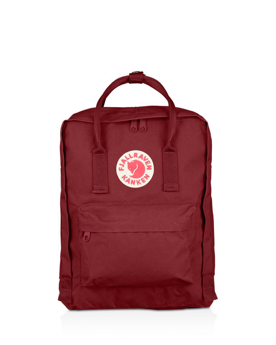2c4c0f154 Fjallraven Kanken Backpack in Red - Save 37% - Lyst