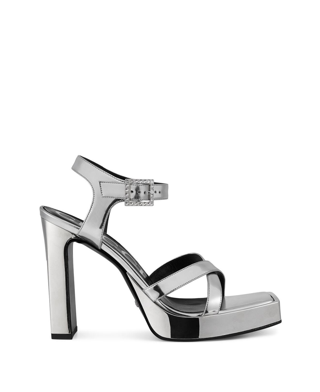 Sandales Plate-forme En Cuir Costanze Gucci lvKpEZiR