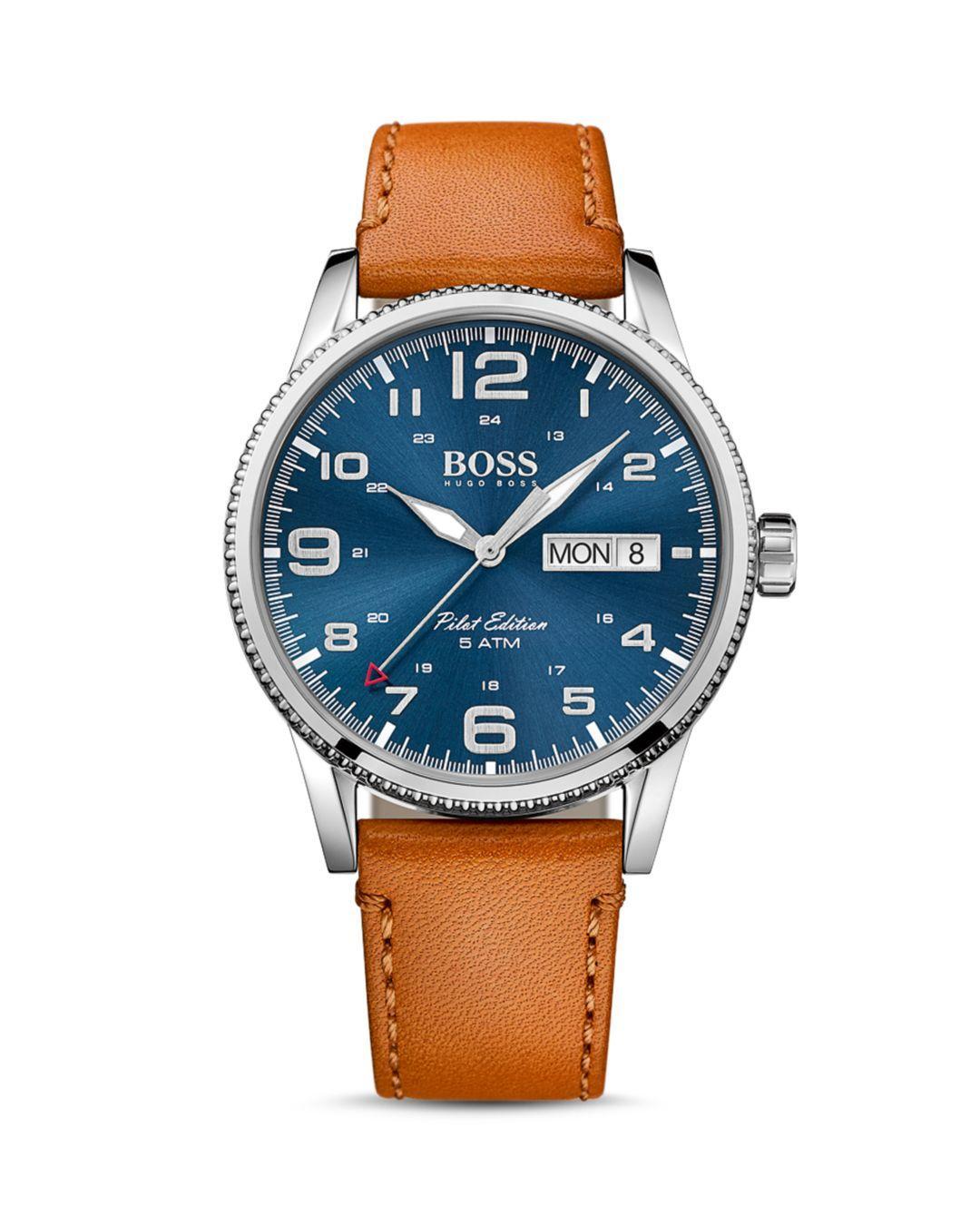 ea49645ff BOSS - Blue Hugo Boss Pilot Watch for Men - Lyst. View fullscreen