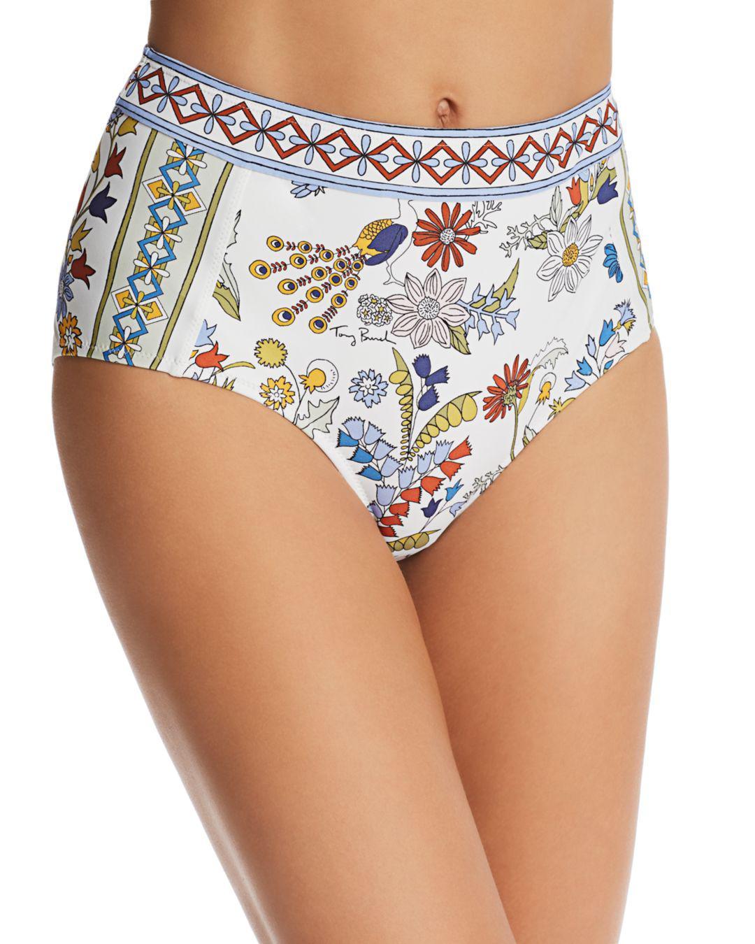 0984d6d65cf6 Tory Burch. Women s Meadow Folly High-waist Bikini Bottom