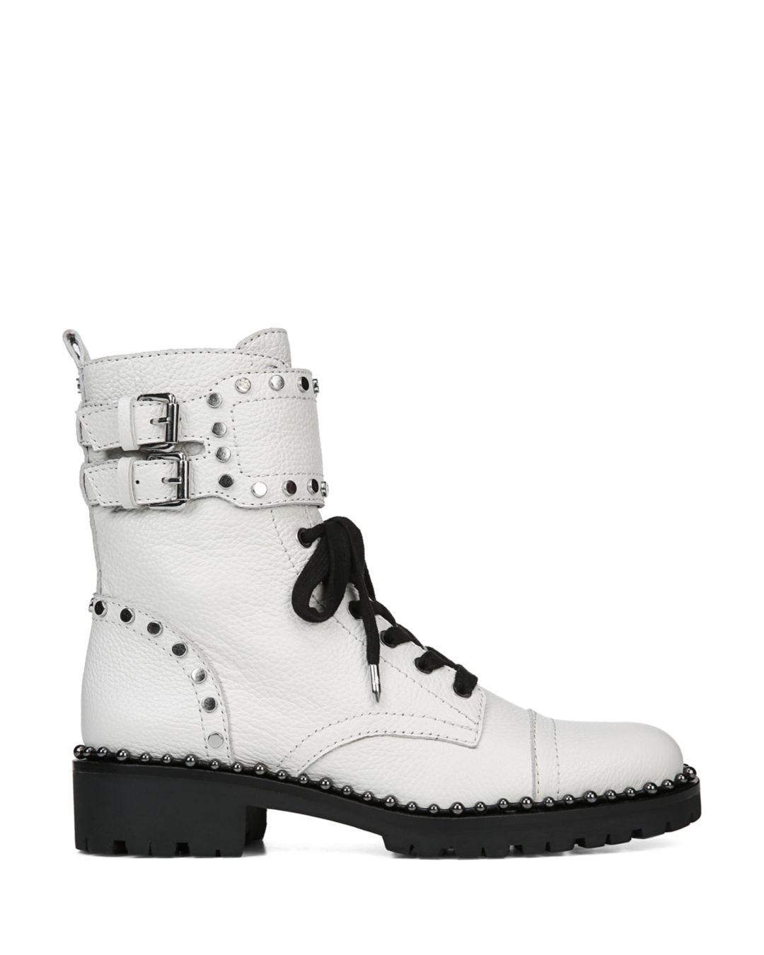 17cf36c22ffbc Lyst - Sam Edelman Jennifer Boot in White