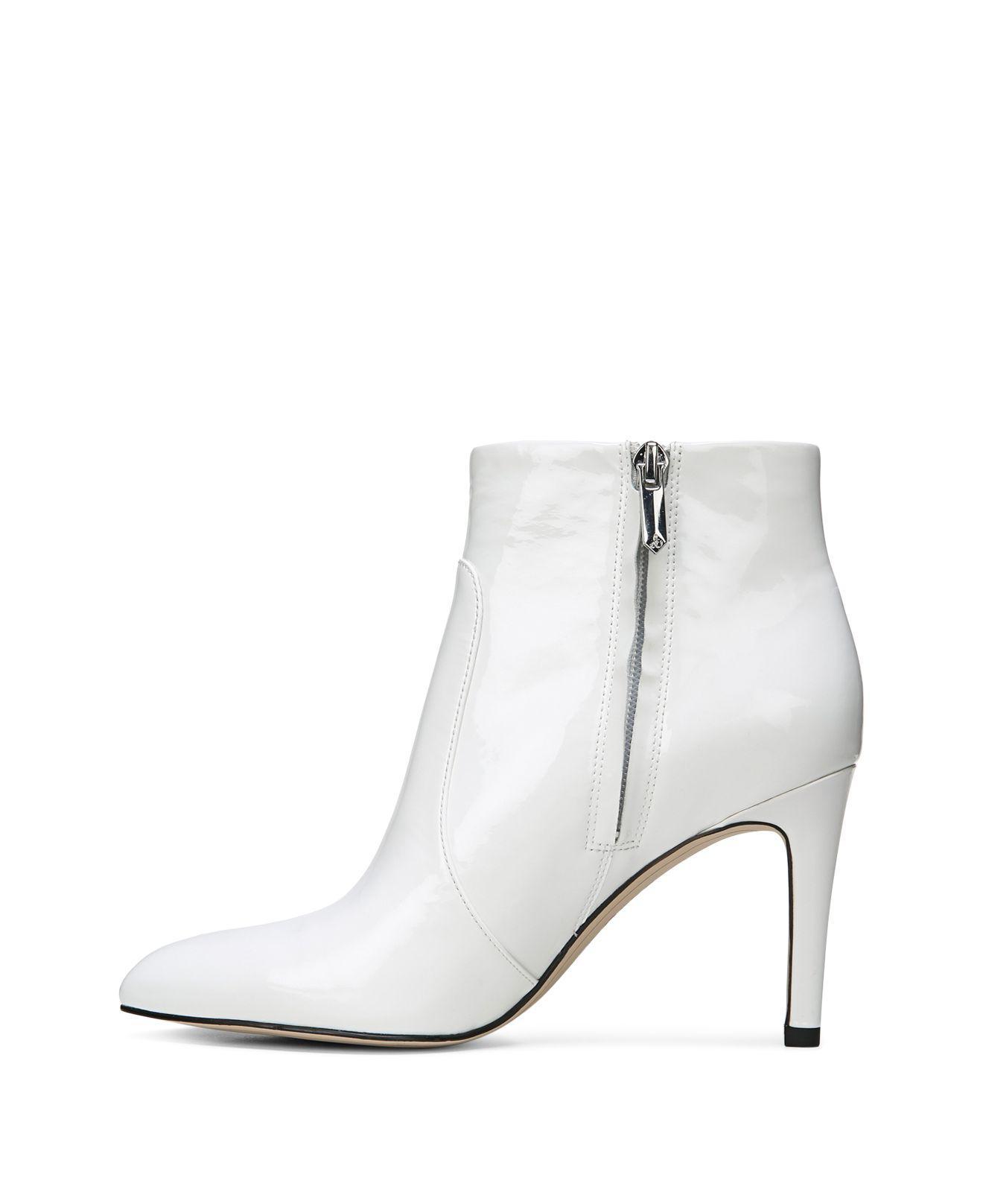 166e634d2e335b Lyst - Sam Edelman Women s Olette Patent Leather High Heel Booties ...