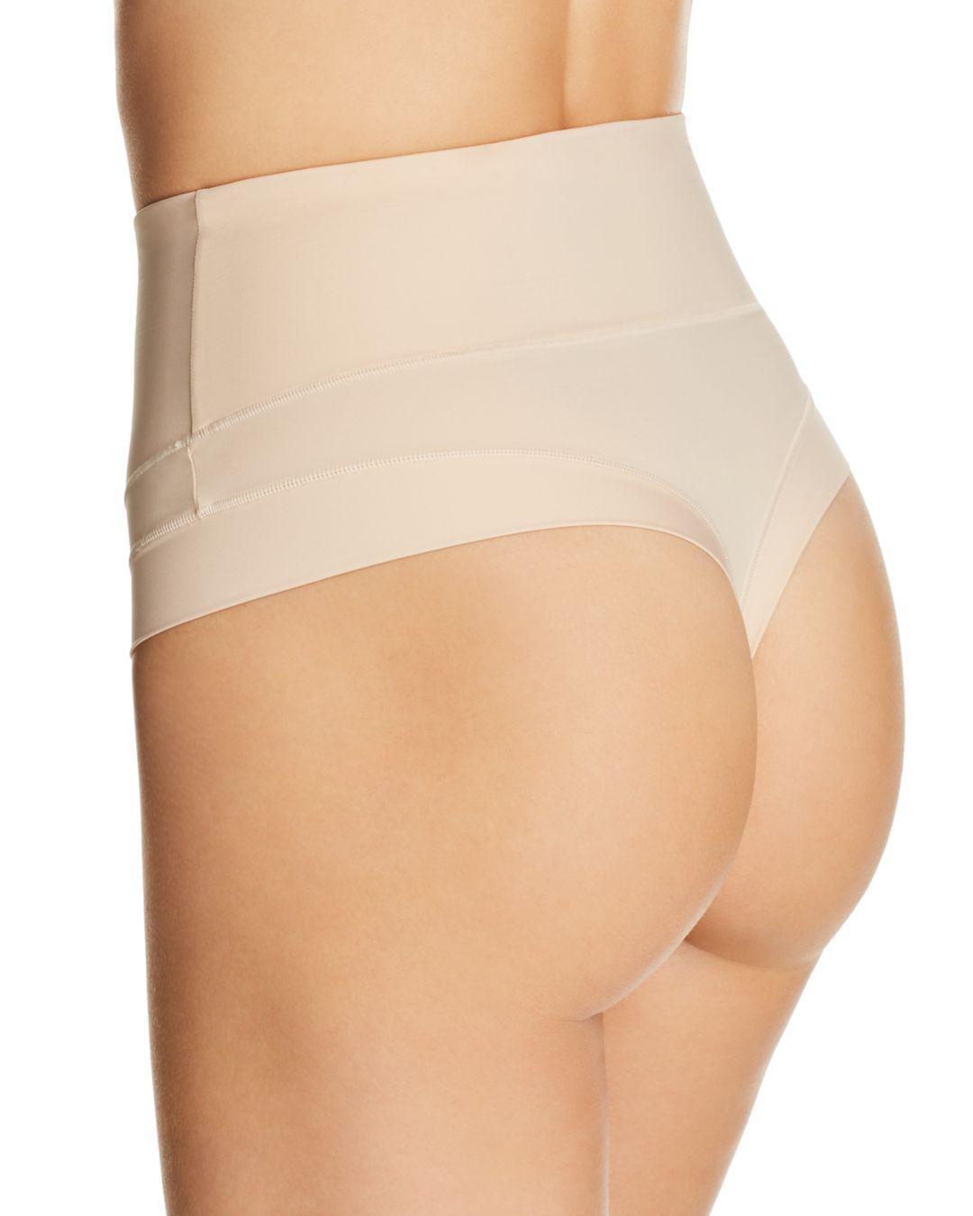 215d763016d Yummie Tummie Tamers Mid-waist Briefs in Natural - Save 21% - Lyst