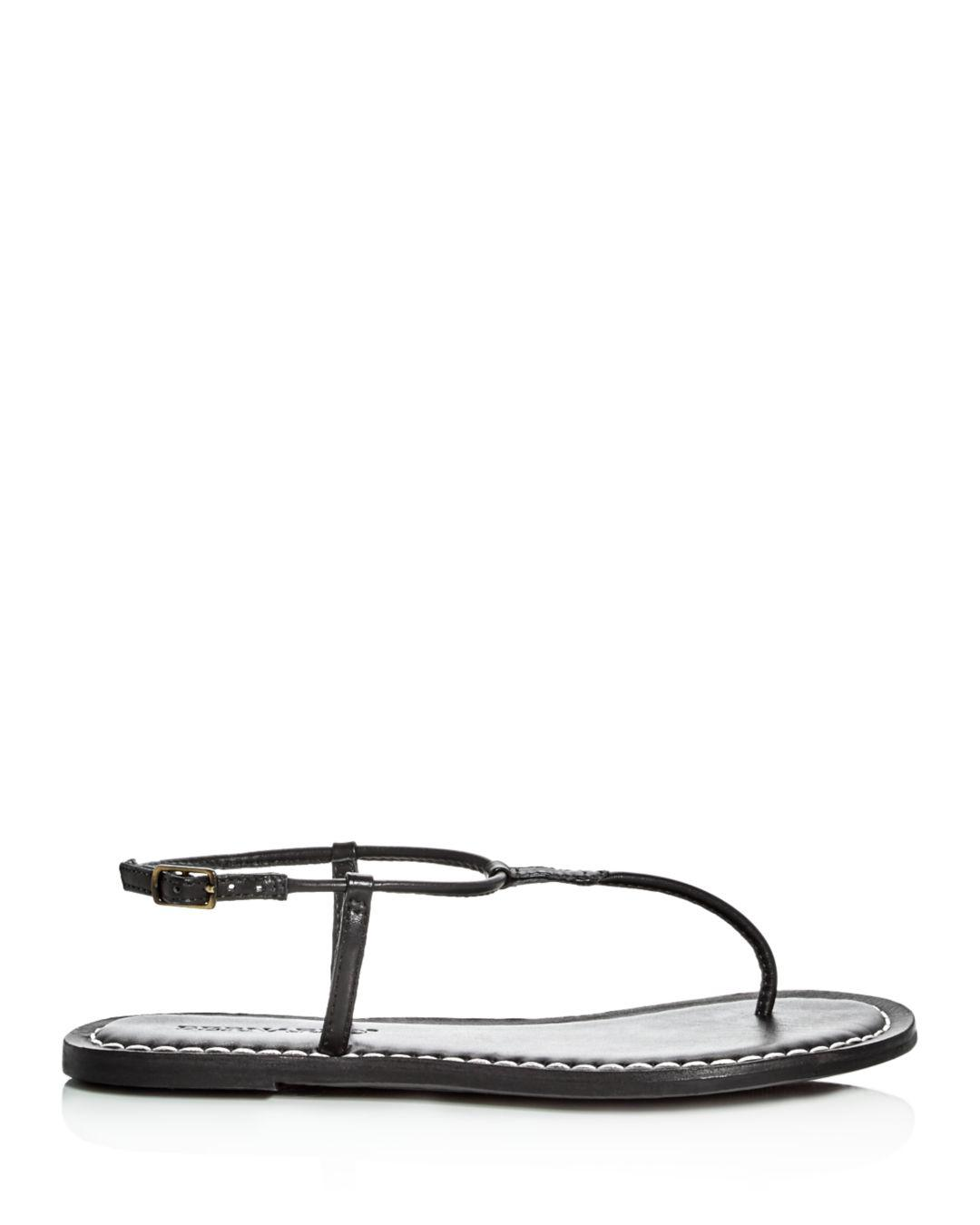 98f8d80c23c Lyst - Bernardo Lilly T-strap Thong Sandals in Black