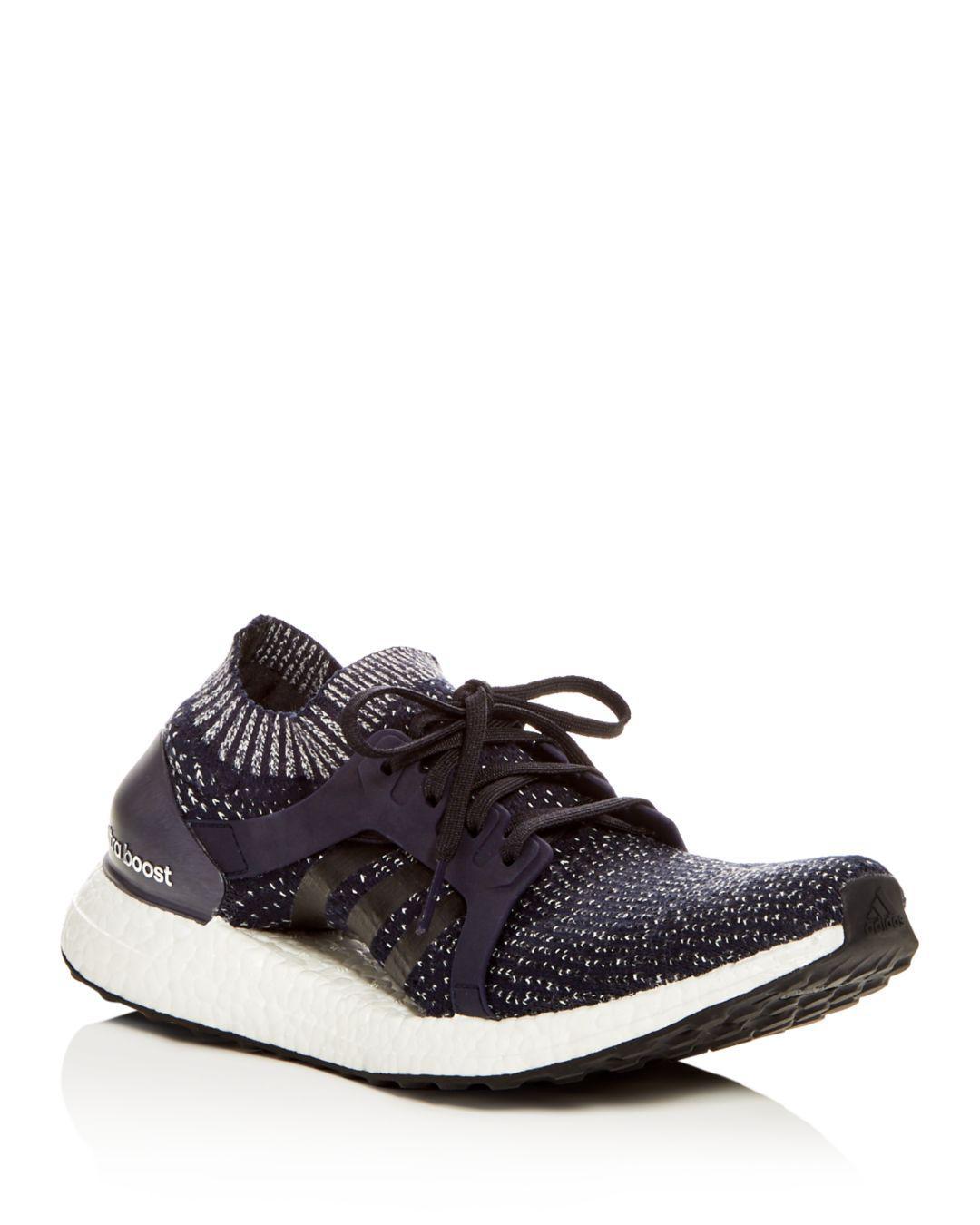 d35894cf0eba Lyst - adidas Women s Ultraboost X Knit Lace Up Sneakers in Black
