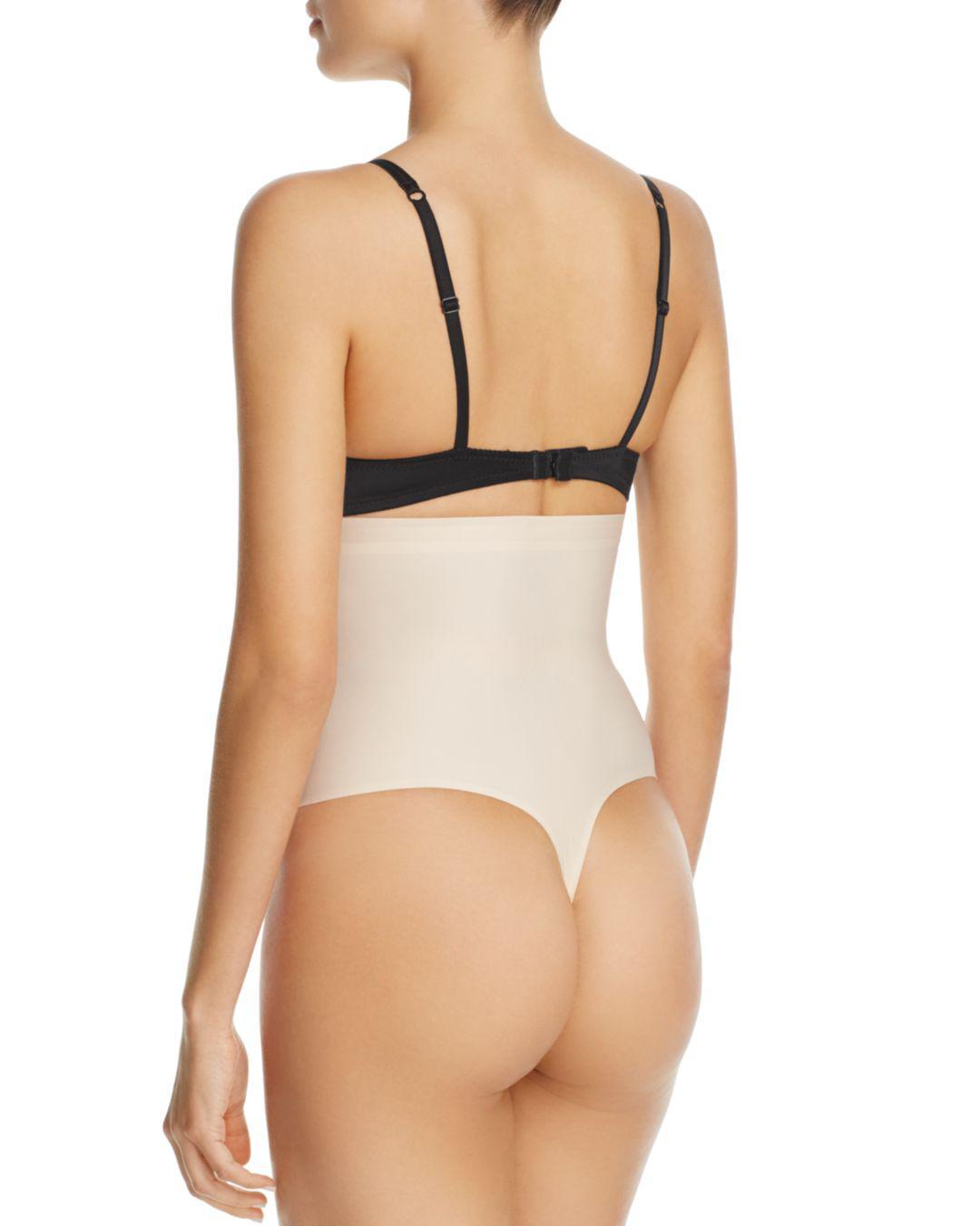 74a8cba6492d6 Lyst - Yummie Hidden Curves High-waist Thong