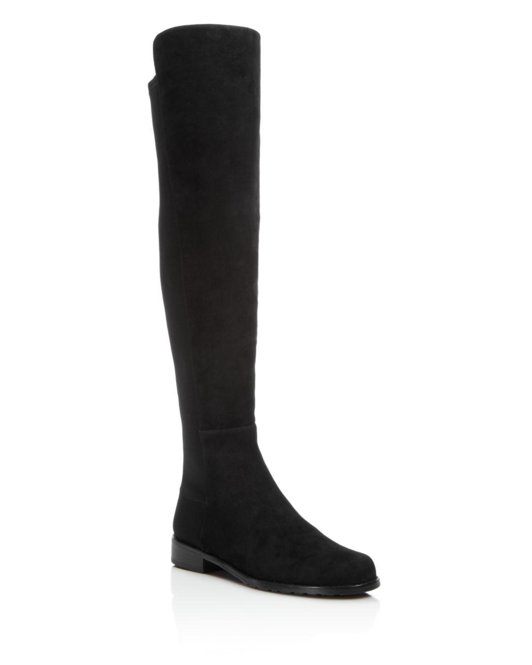ffd03c7c0d5 Lyst - Stuart Weitzman Women s 5050 Over The Knee Boots in Black