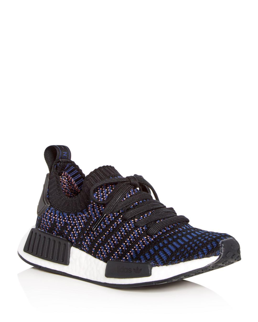 939c9a495 adidas. Black Women s Nmd R1 Stlt Primeknit Casual Sneakers From Finish Line