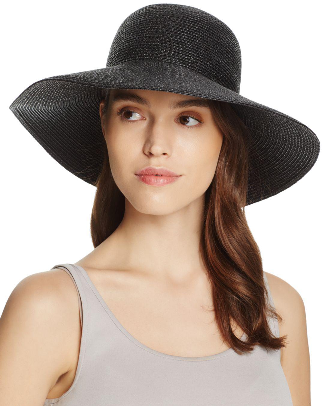df886c28ac347 Lyst - Eric Javits Hampton Sun Hat in Black