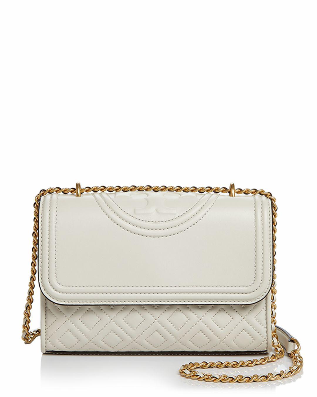 31e511f60203 Tory Burch. Women s Black Fleming Convertible Small Leather Shoulder Bag