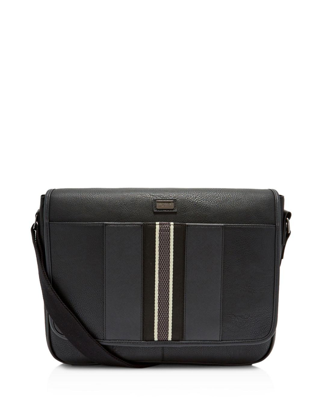 63721152d89f Lyst - Ted Baker Pollo Webbing Despatch Bag in Black for Men