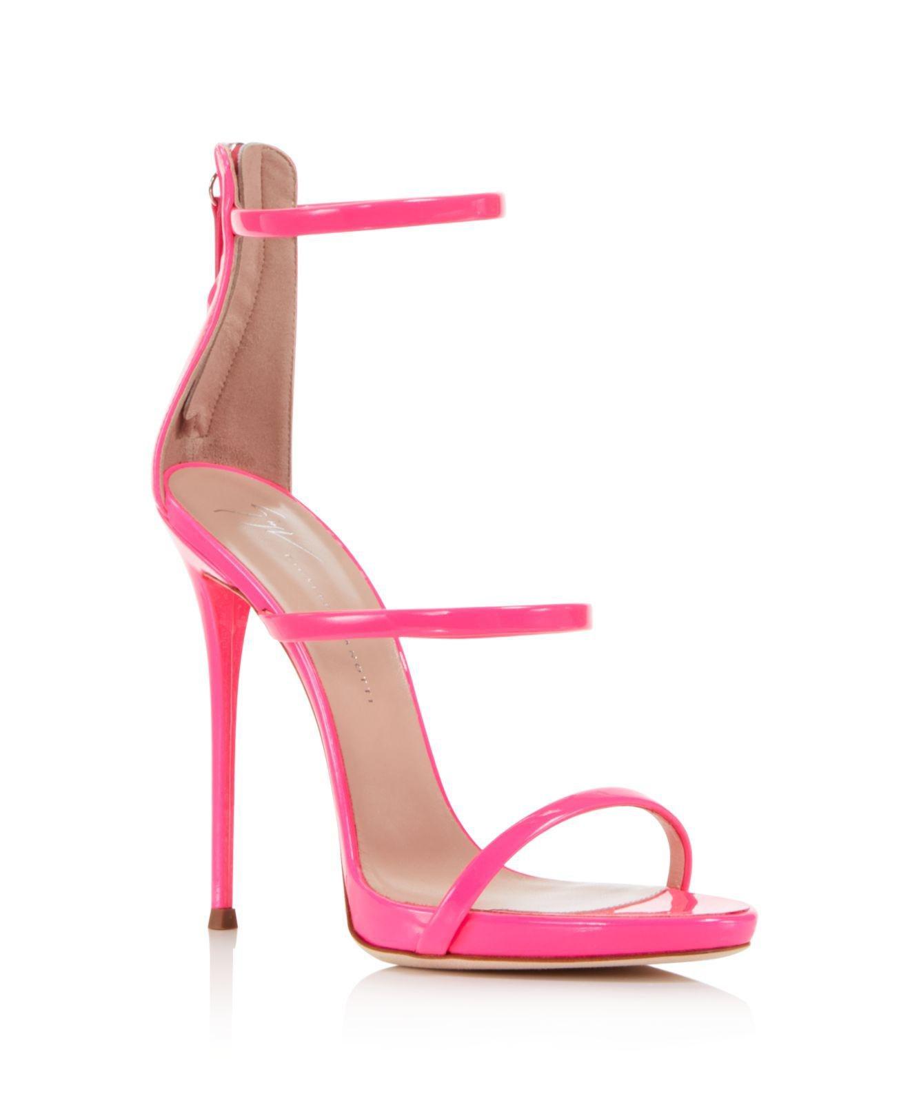 Giuseppe Zanotti Women's Vernice Patent Leather Ankle Strap High-Heel Sandals 5a1c3HfWZ3