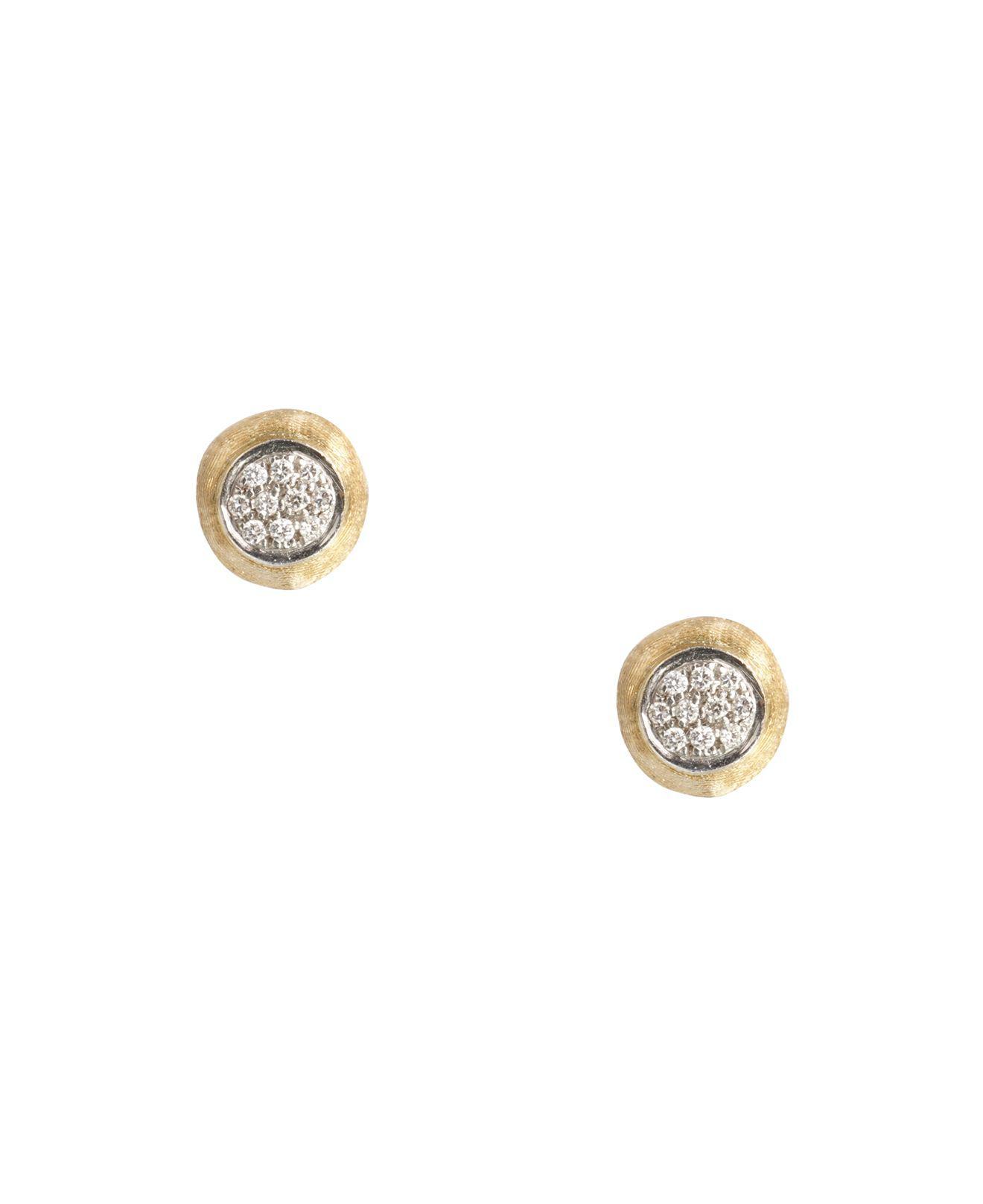 Marco Bicego Delicati 18k Round Drop Earrings w/ Pavé Diamonds K5lghrEQ