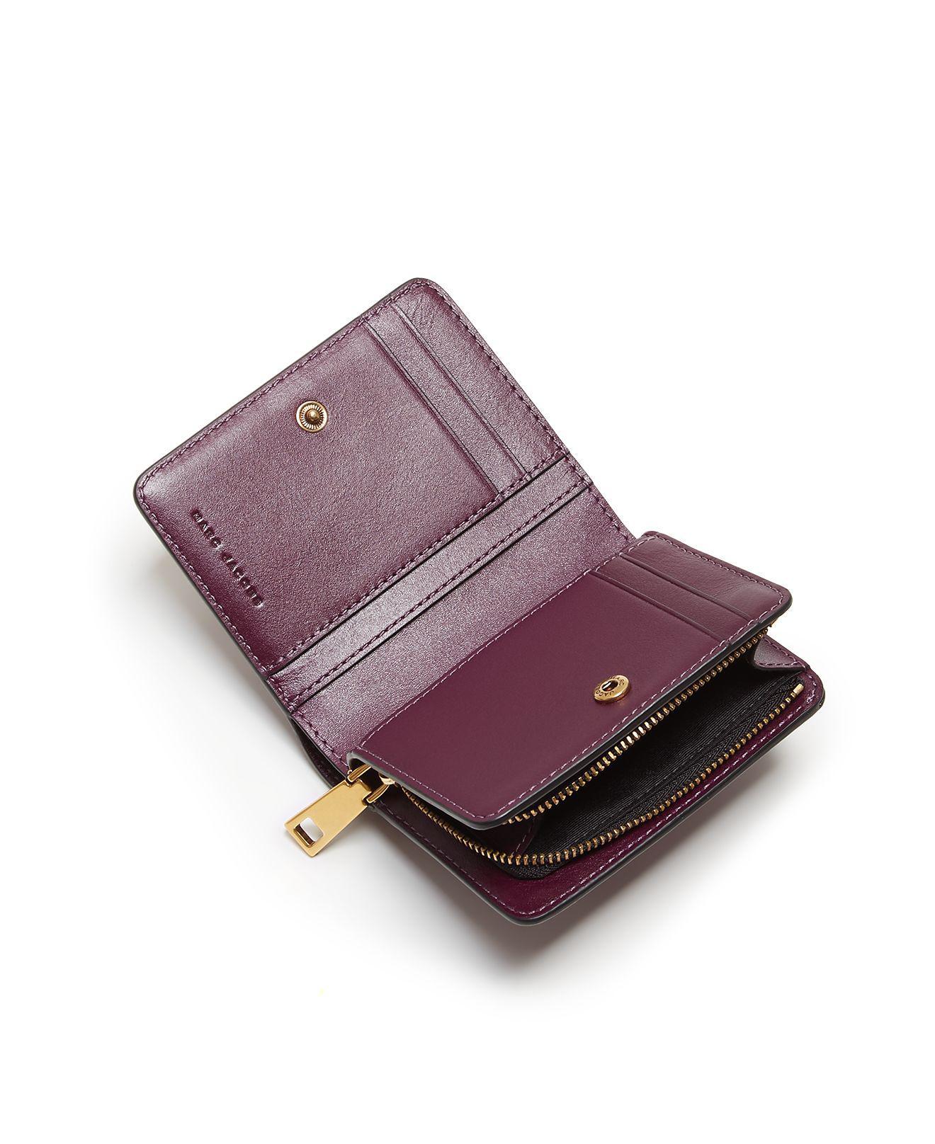Marc Jacobs Gotham mini compact wallet vF6ojk