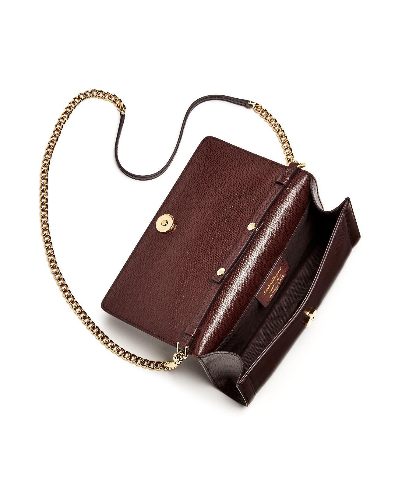 Lyst - Ferragamo Miss Vara Bow Leather Mini Bag 176d68c3a0180