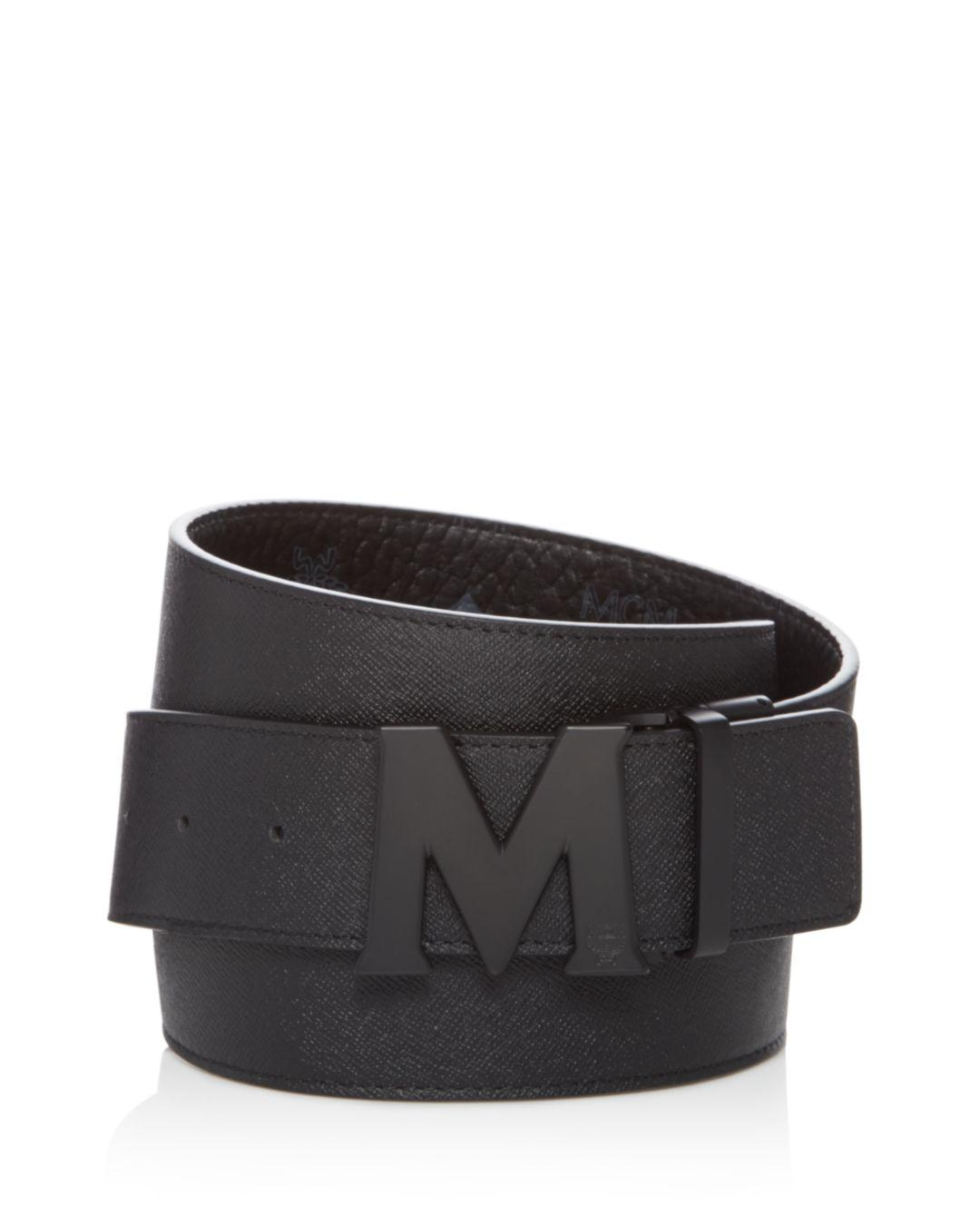 4e1a88201a MCM Reversible Signature Belt in Black for Men - Save 7% - Lyst