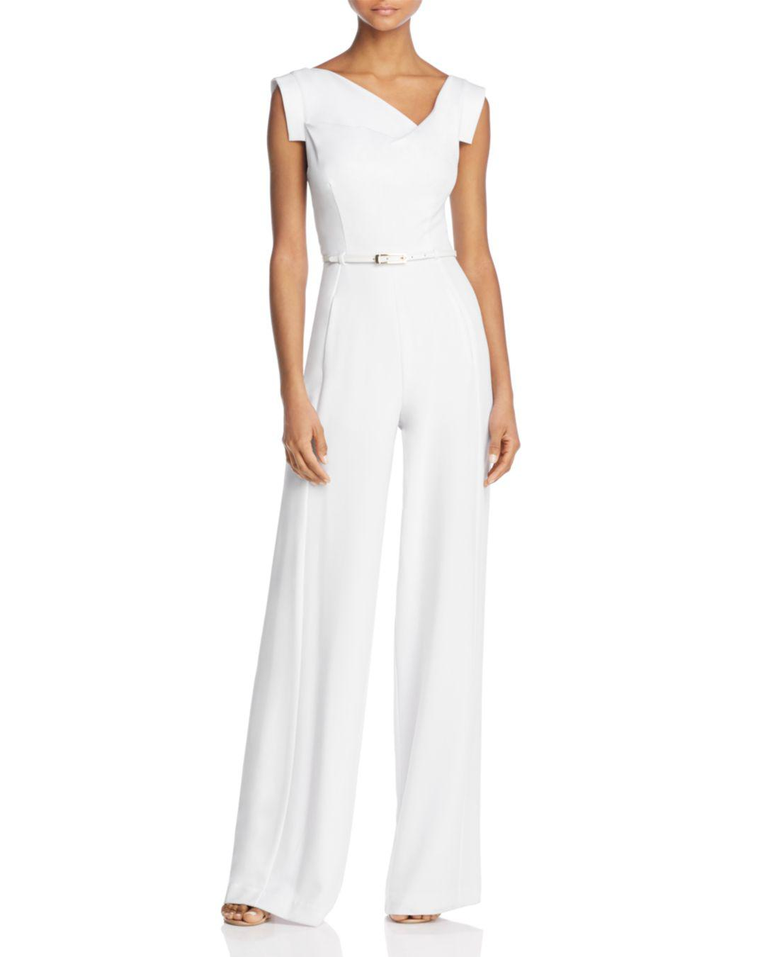 9fe767da0ee Black Halo Jackie Jumpsuit in White - Lyst