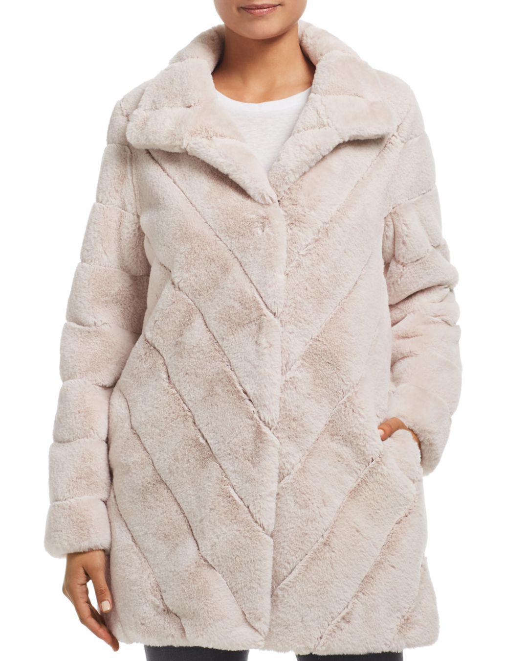 5b71077883f7 Calvin Klein. Women s Faux Fur Coat