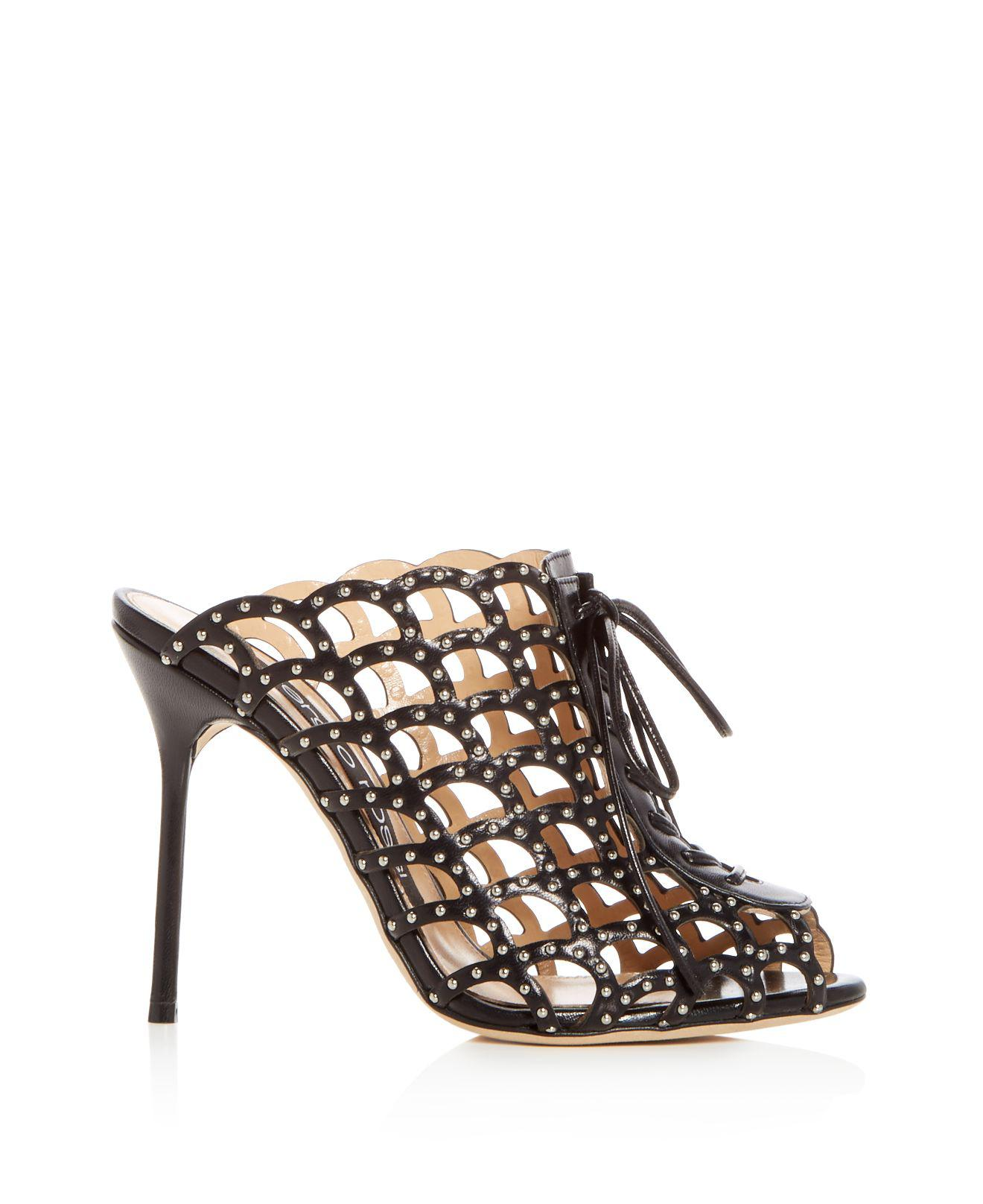 footlocker pictures sale online Sergio Rossi Crossover Caged Sandals release dates for sale free shipping brand new unisex 2LfKXLQbe