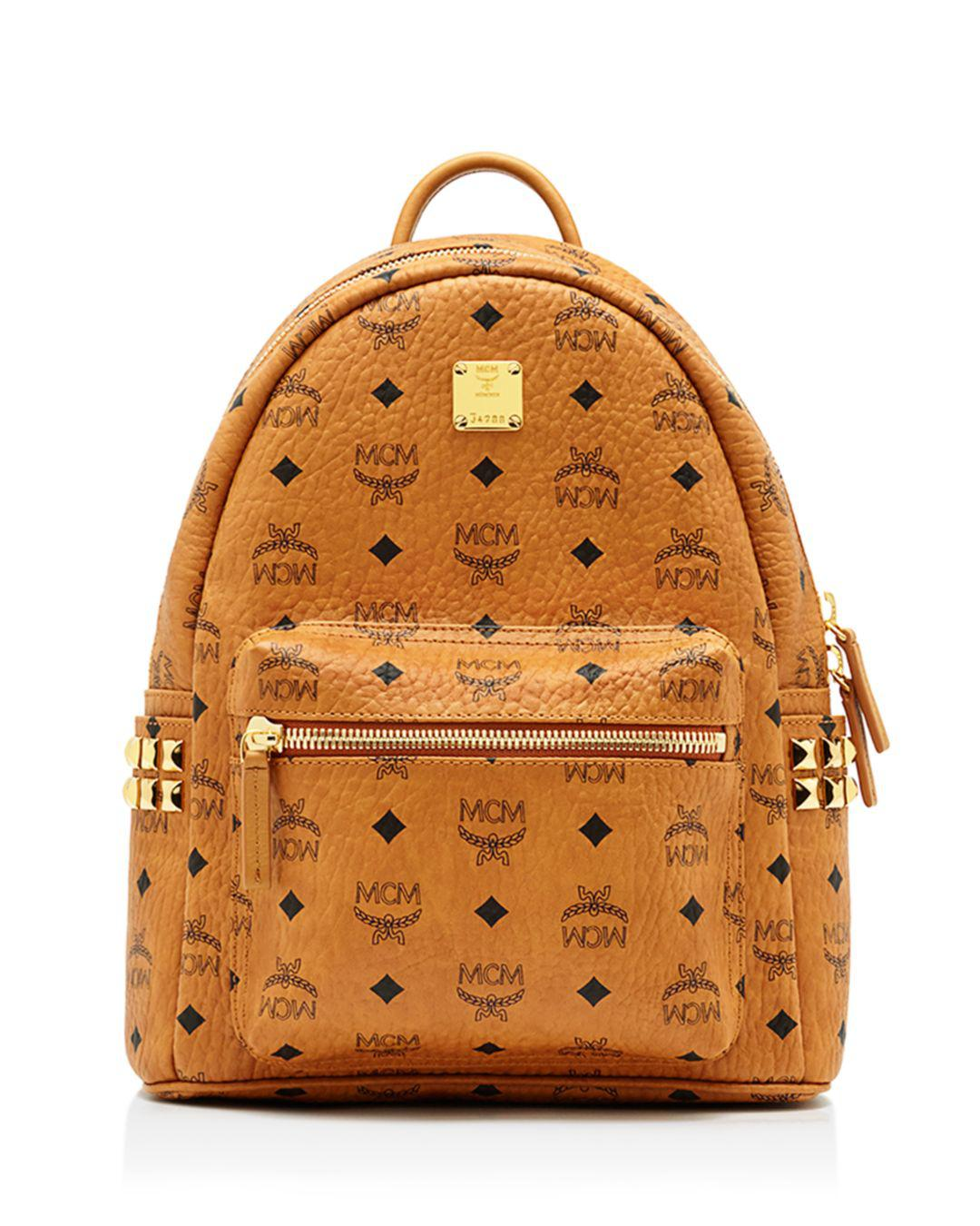 835a27a75db3 MCM - Multicolor Stark Side Stud Small Backpack - Lyst. View fullscreen