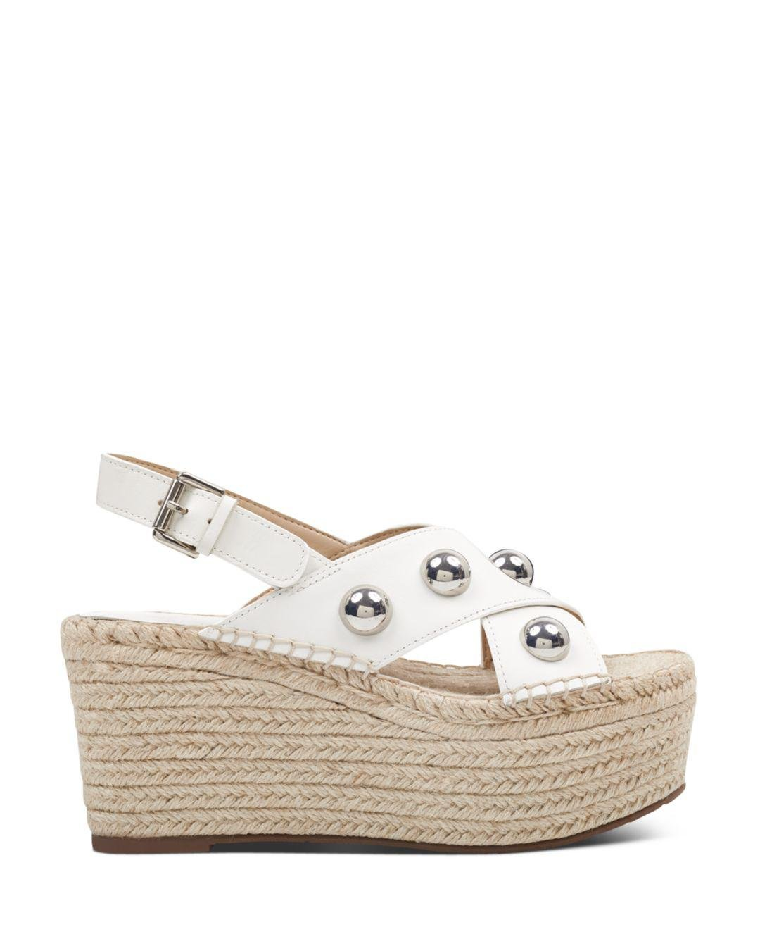 3117e747a394 Gallery. Previously sold at  Bloomingdale s · Women s White Platform Wedges Women s  Marc Fisher ...
