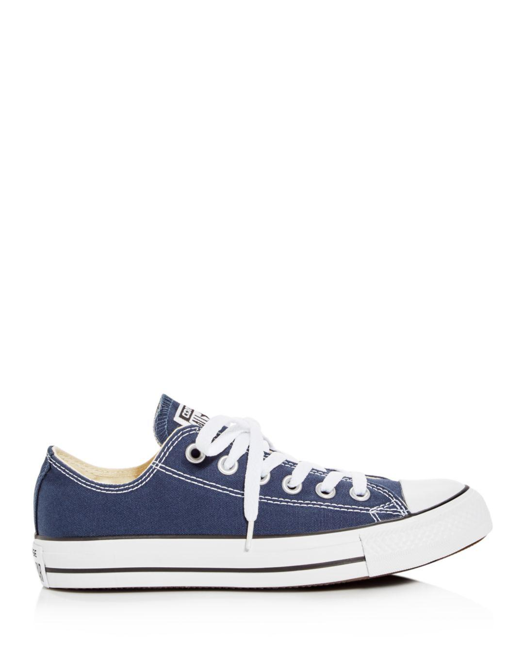 fdd4b5e22116 Lyst - Converse Women s Chuck Taylor All Star Lace Up Sneakers in Blue