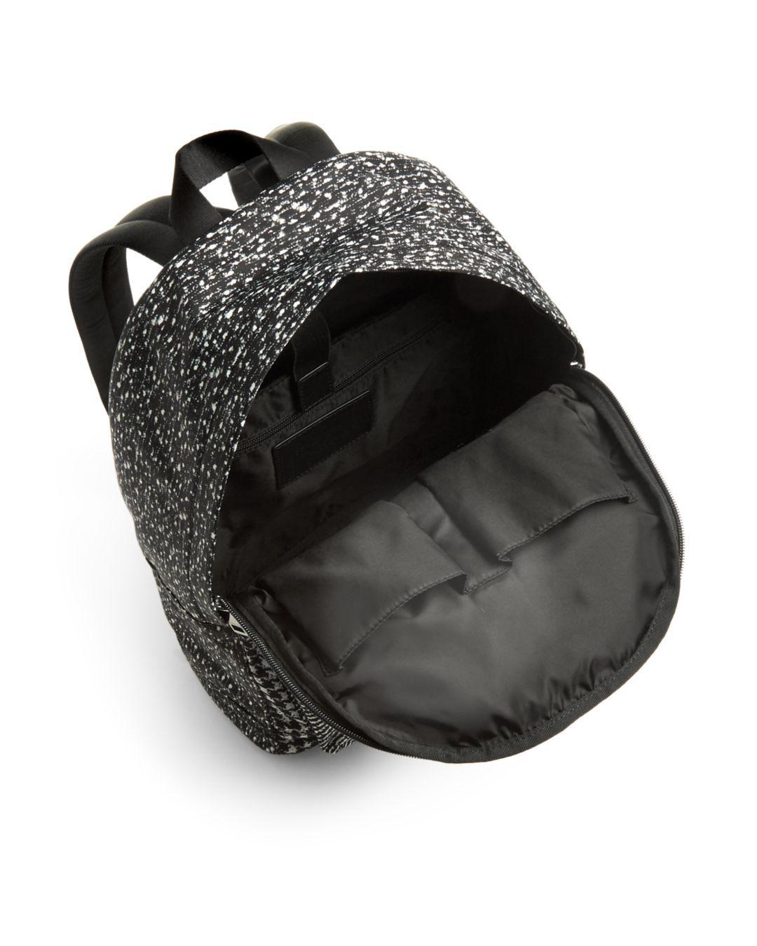 a15715c23e Lyst - Michael Kors Kent Houndstooth Nylon Backpack in Black for Men - Save  60%