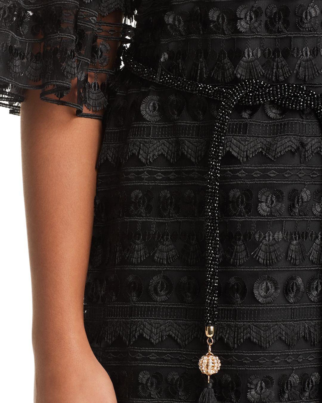 e22e655d11b Marina Rinaldi - Black Diaspro Tulle Shift Dress - Lyst. View fullscreen