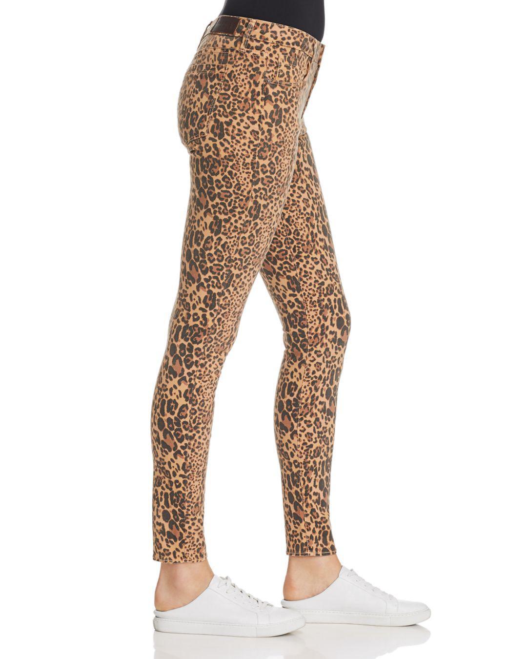 615e92dbd81 Parker Smith - Brown Ava Skinny Jeans In Leopard - Lyst. View fullscreen