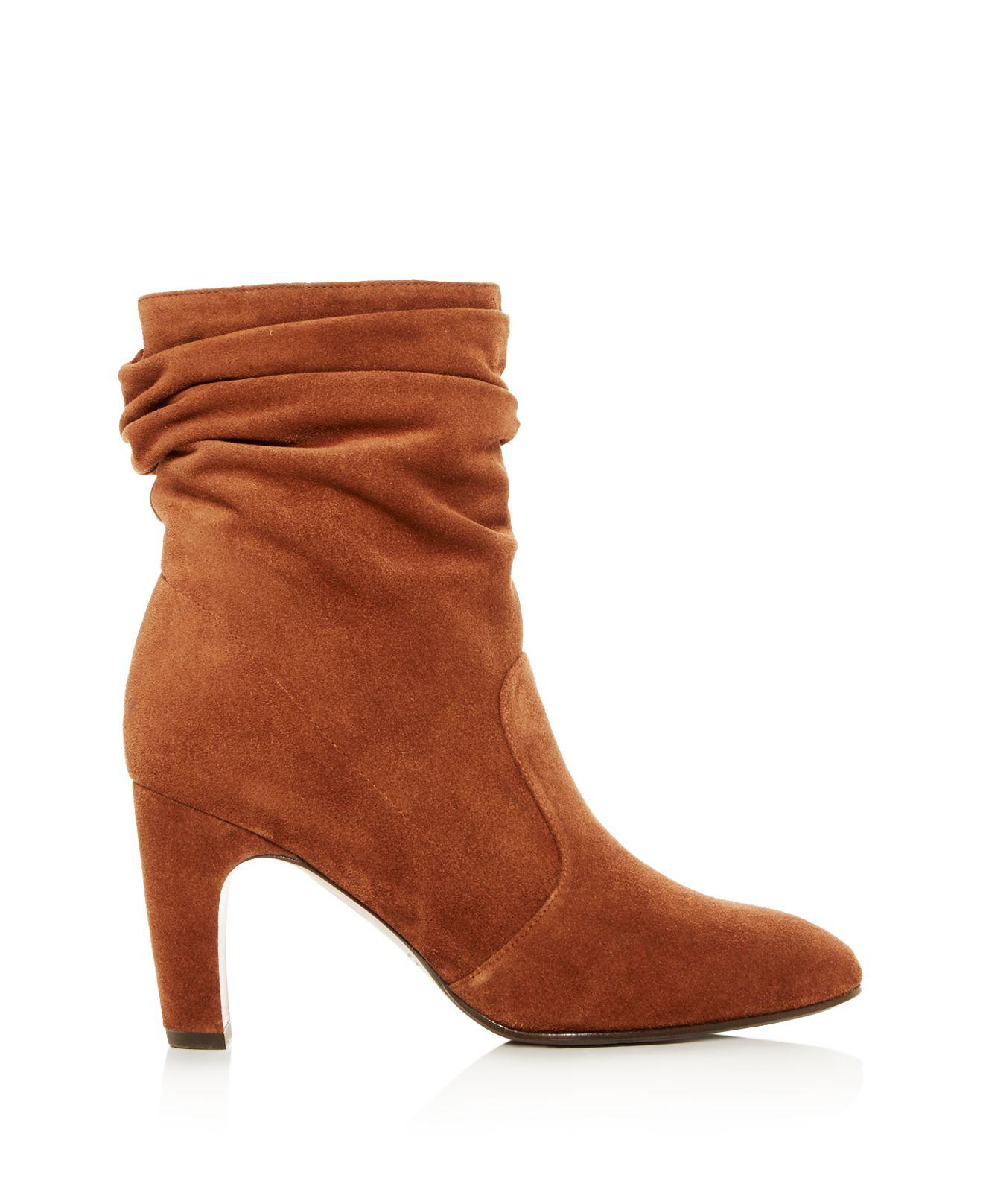 Chie Mihara Women's Jazz Suede Slouch High-Heel Boots SOVGJ08zN