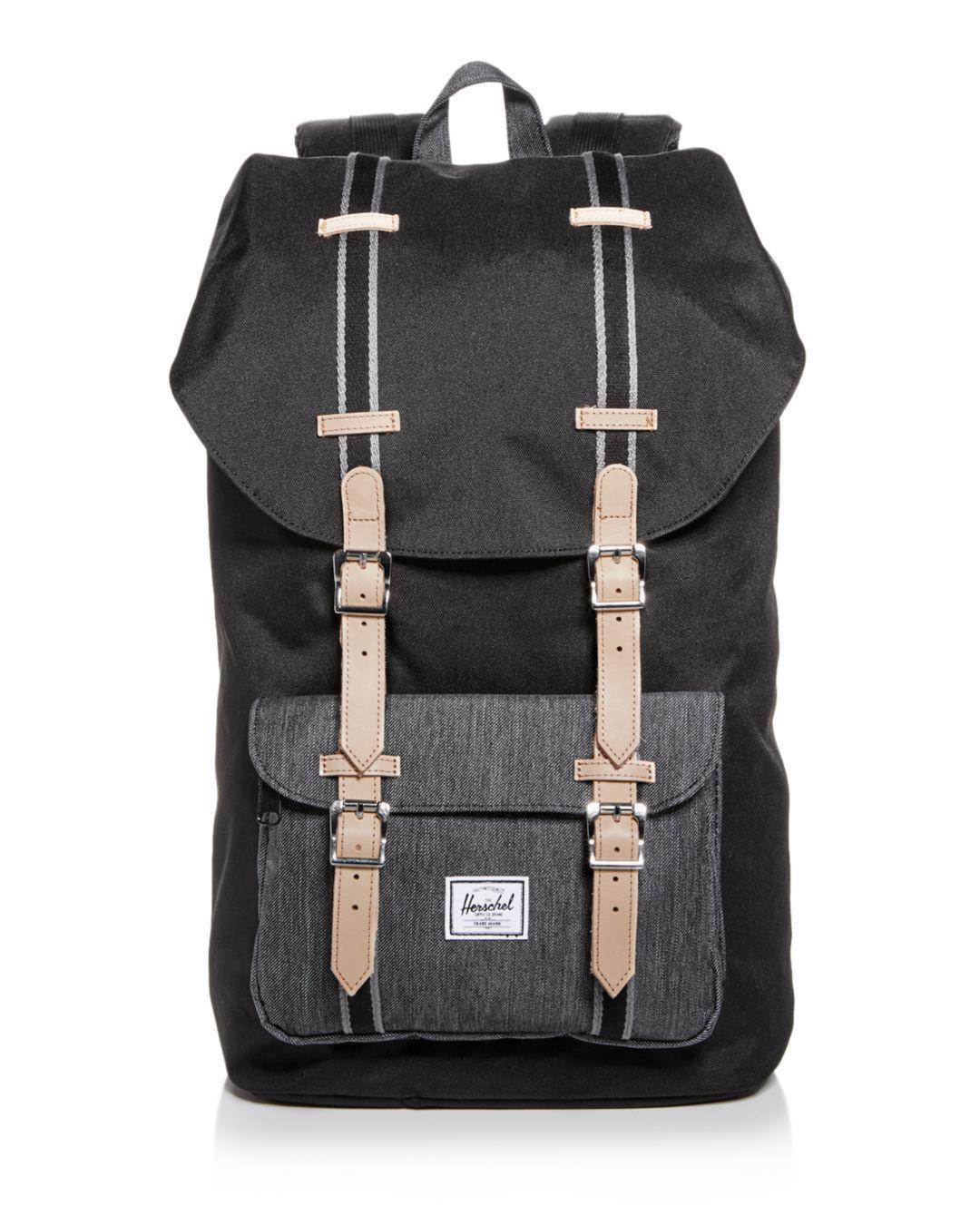 Herschel Supply Co. Classic Little America Backpack in Black for Men ... 1e83e3b537