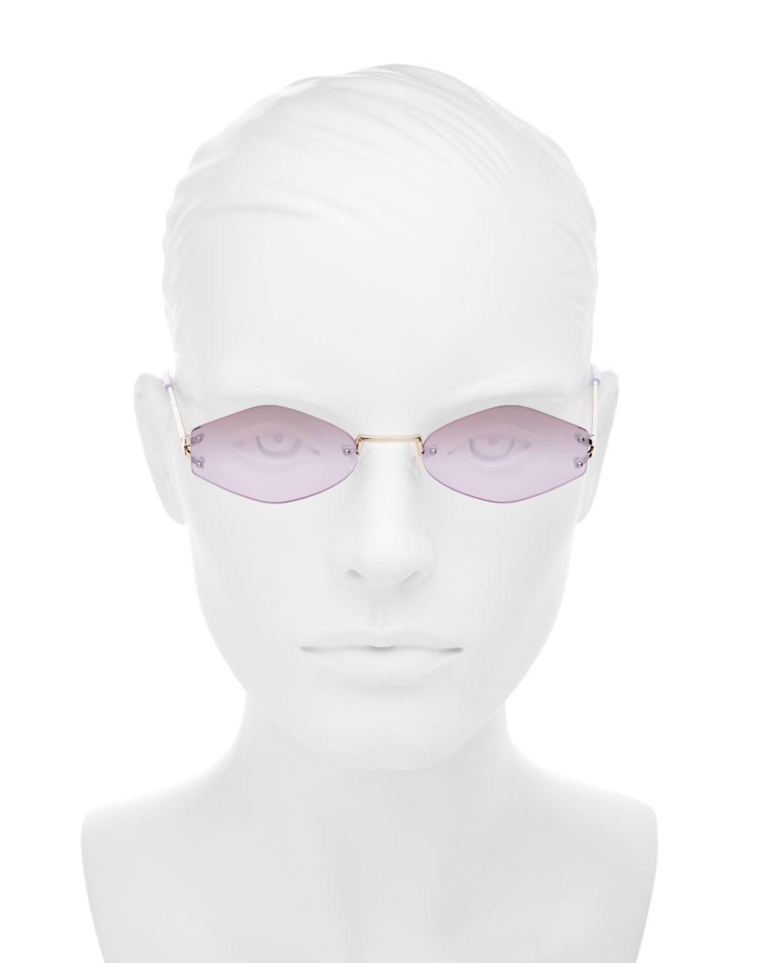 7e716ba2e8 Kendall + Kylie Kendall And Kylie Women s Kye Mirrored Round Sunglasses