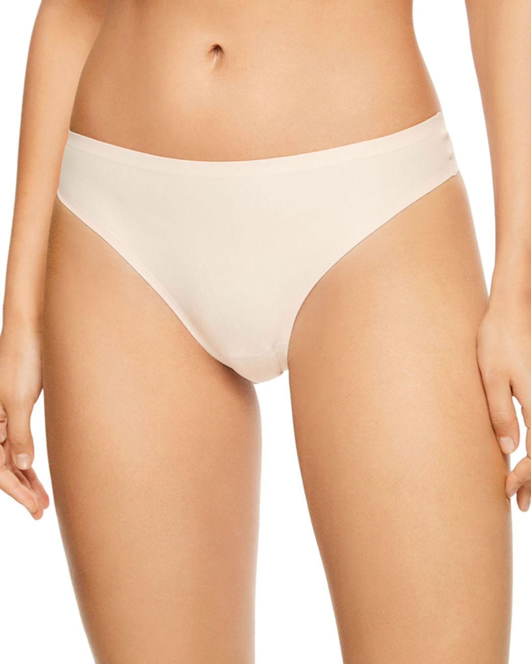 7a3eb8695 Lyst - Chantelle Soft Stretch One-size Seamless Thong in Natural