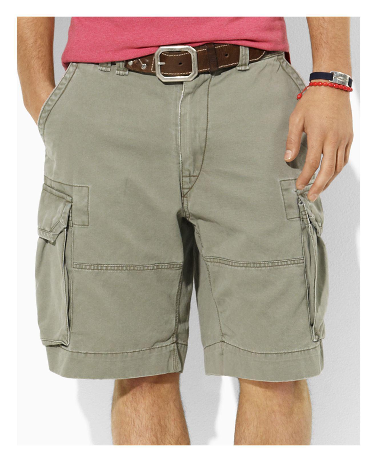Det bästa utsökt design officiell Polo Ralph Lauren Mens Shorts Core 10.5 Classic Gellar Cargos ...