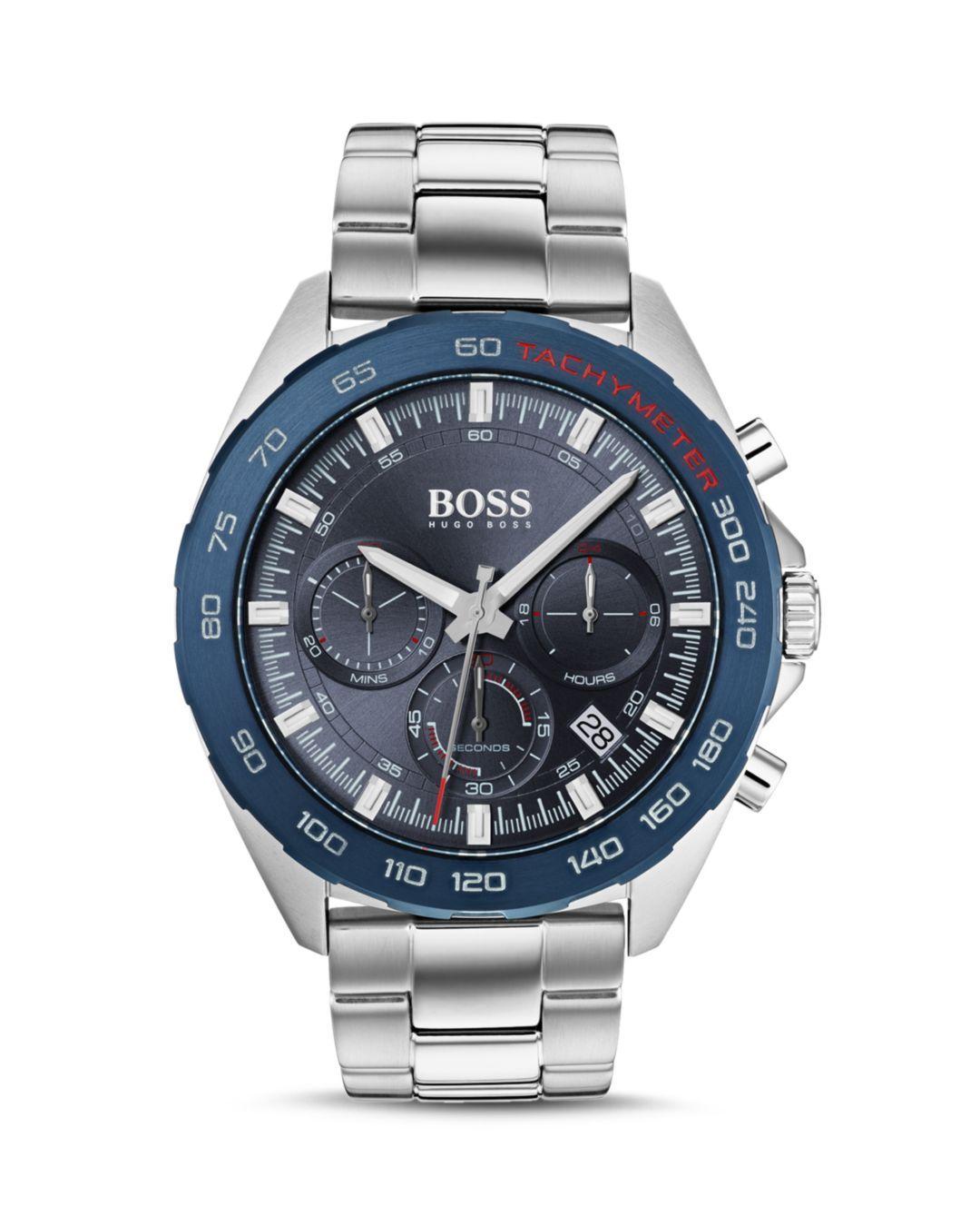9473bbaba BOSS - Blue 44mm for Men - Lyst. View fullscreen