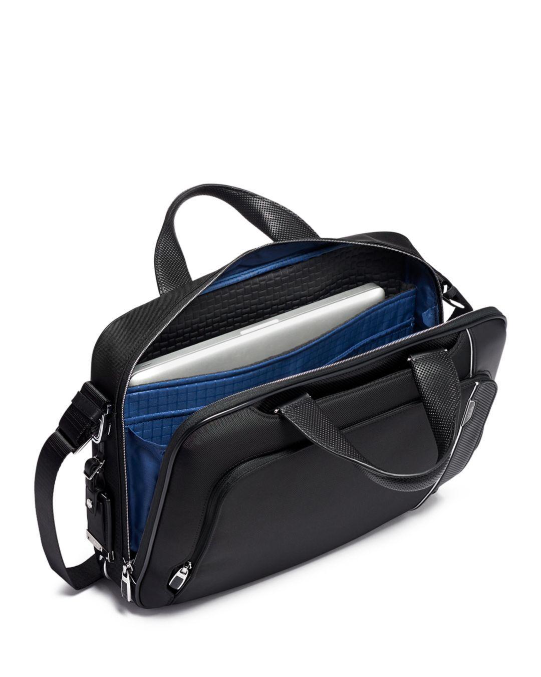 22df26665e4c Tumi Arriv Sadler Briefcase in Black for Men - Save 27% - Lyst