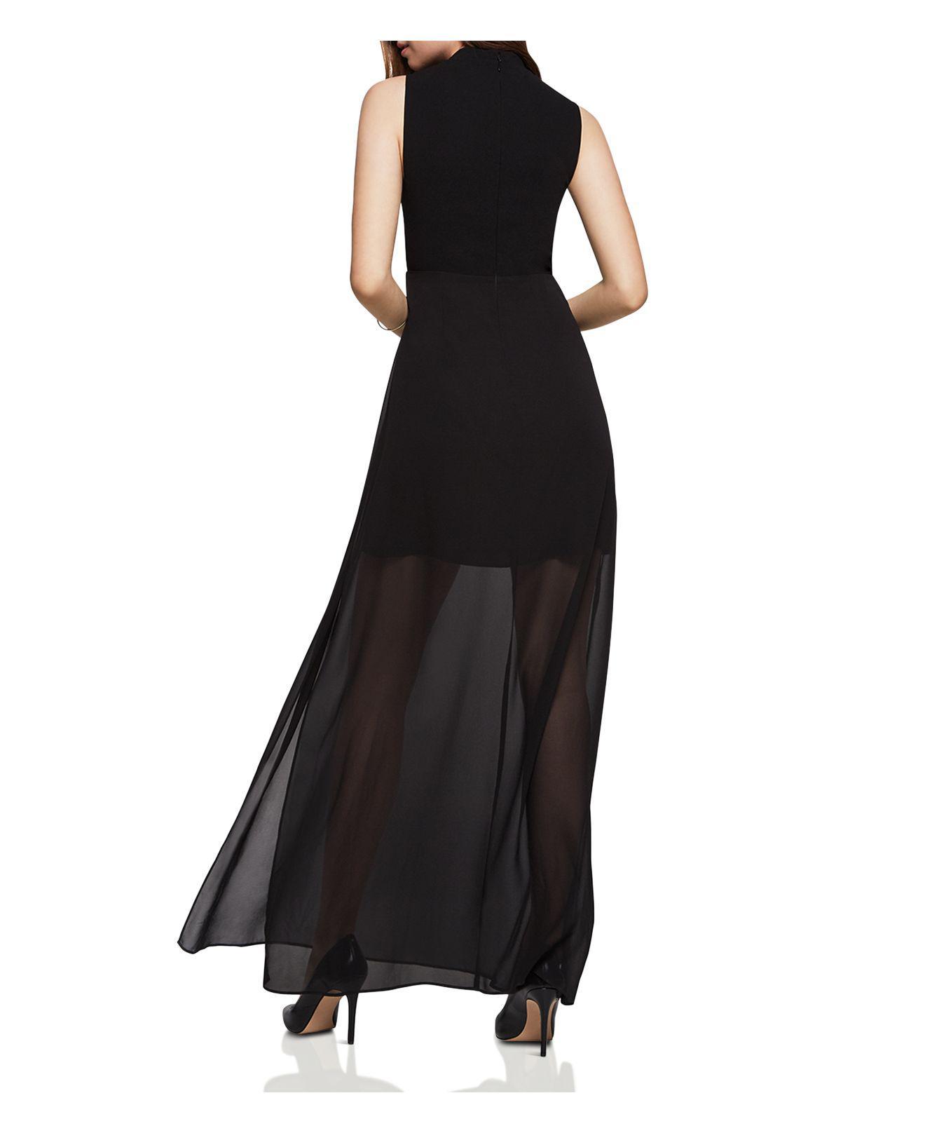 Bcbg mock neck maxi dress
