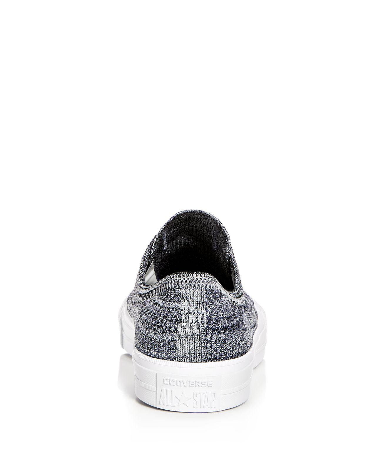 05989d1f08e4 Converse - Black X Nike Men s Chuck Taylor All Star Flyknit Lace Up Sneakers  for Men
